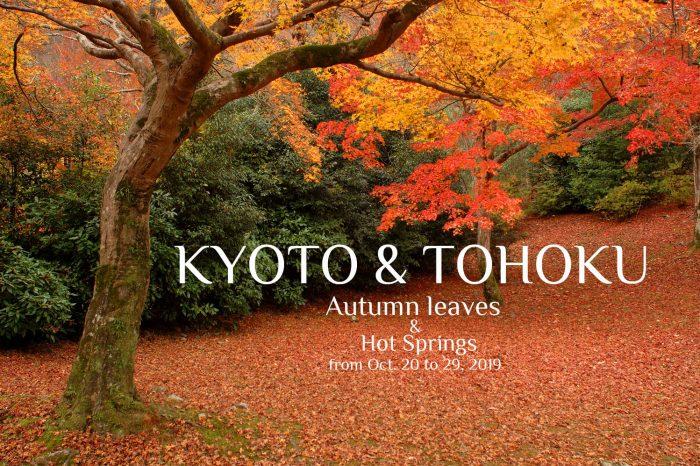 """Photo Tour to Japan Autumn, 2019: Kyoto & Tohoku """"Autumn Leaves & Hot Springs"""""""