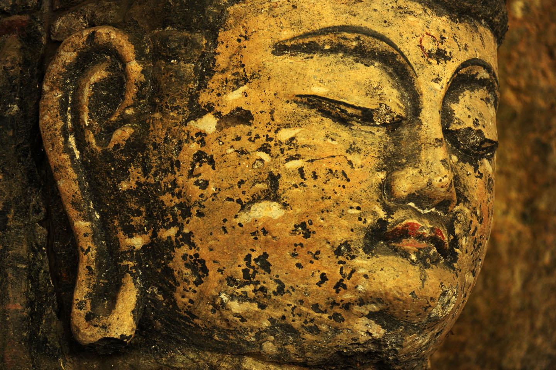 Stone Buddha in Usuki