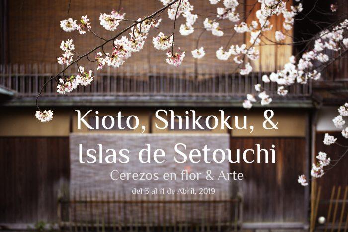 "Viaje fotográfico a Japón Primavera 2019: KIOTO, SHIKOKU & ISLAS DE SETOUCHI ""Cerezos en Flor & Arte"""