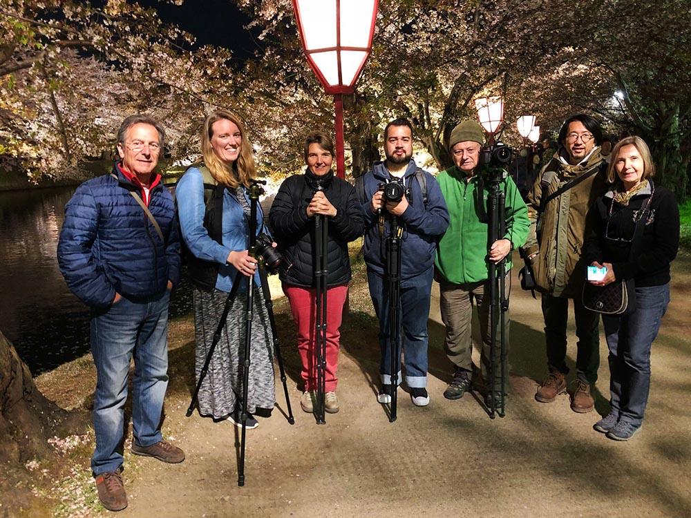 Akashi Travel cherry blossom photo tour Japan