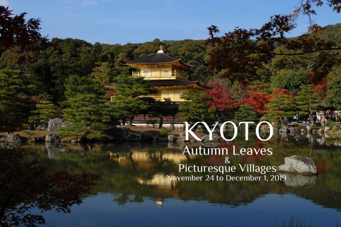 "Private Photo Tour to Kyoto, Japan 2019 ""Autumn Leaves & Picturesque Villages"""
